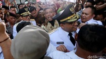 Usai Hadiri Selamatan Jakarta, Anies Tinggalkan Balai Kota