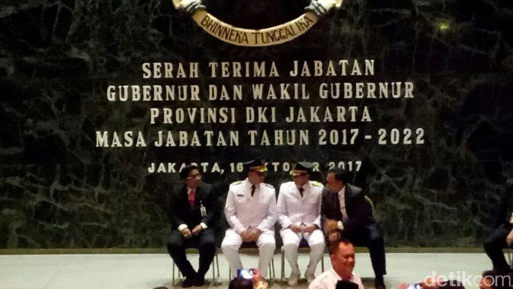 Plh Gubernur DKI Gantikan Djarot di Sertijab Anies-Sandi