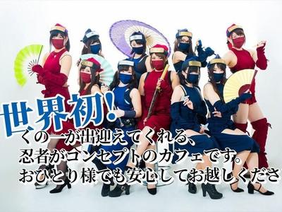 Foto: Dilayani Ninja Seksi di Jepang