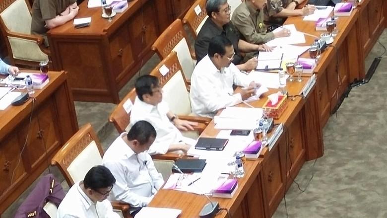 Evaluasi Penanganan Korupsi, Jaksa Agung-KPK-Kapolri Rapat di DPR