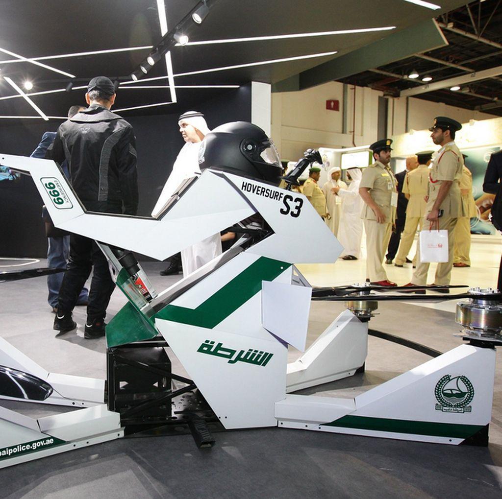 Motor Terbang Polisi Dubai