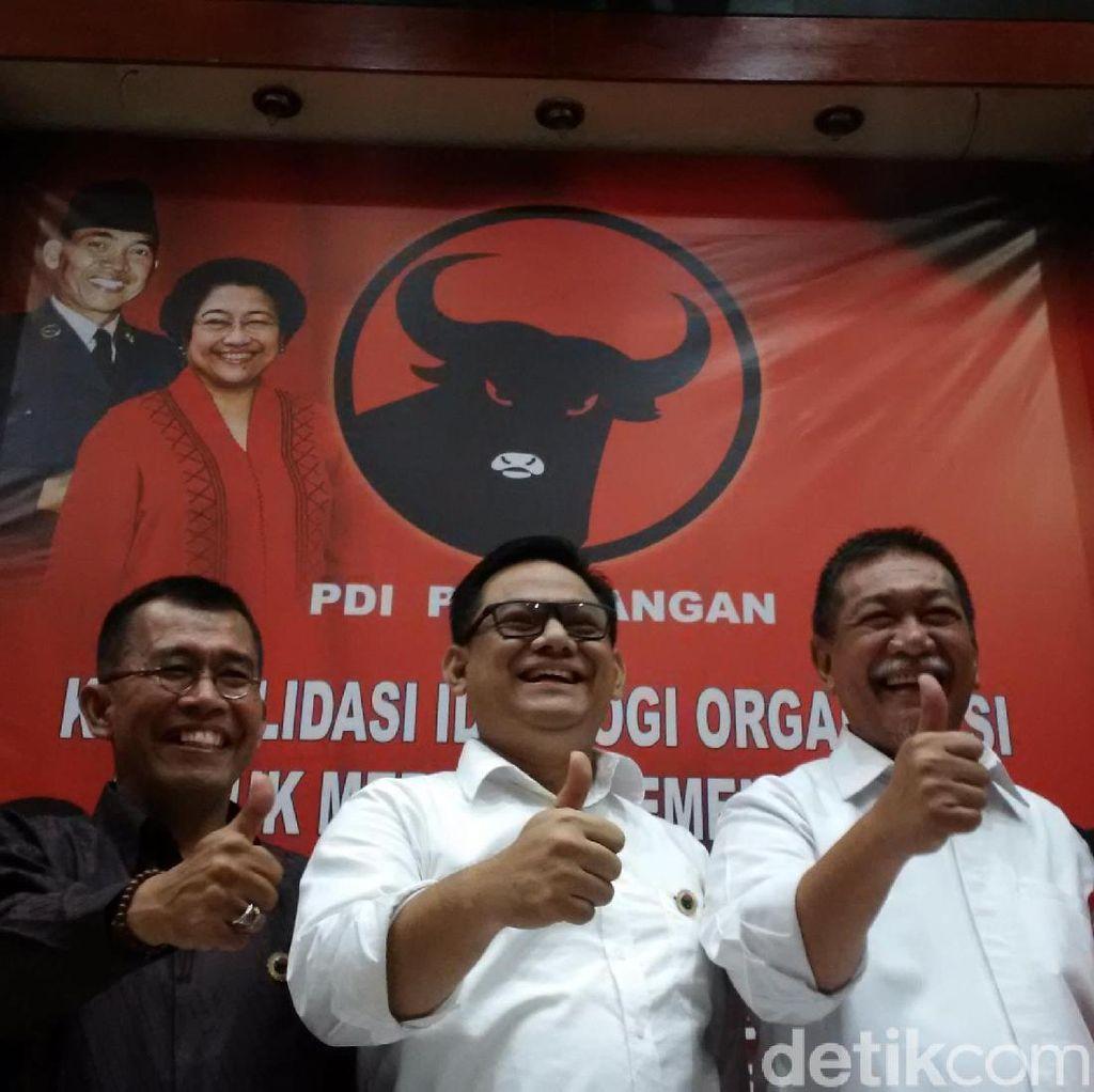 PDIP Tutup Peluang Usung Deddy Mizwar karena Jadi Kader Demokrat