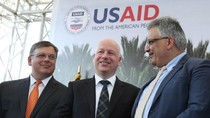 AS Launching Proyek Suplai Air Rp 132 M untuk Warga Palestina