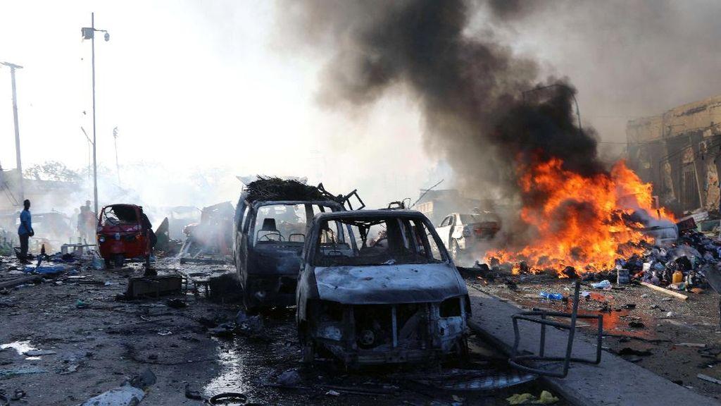 276 Orang Tewas Akibat Bom Truk di Somalia, Kecaman Dunia Mengalir