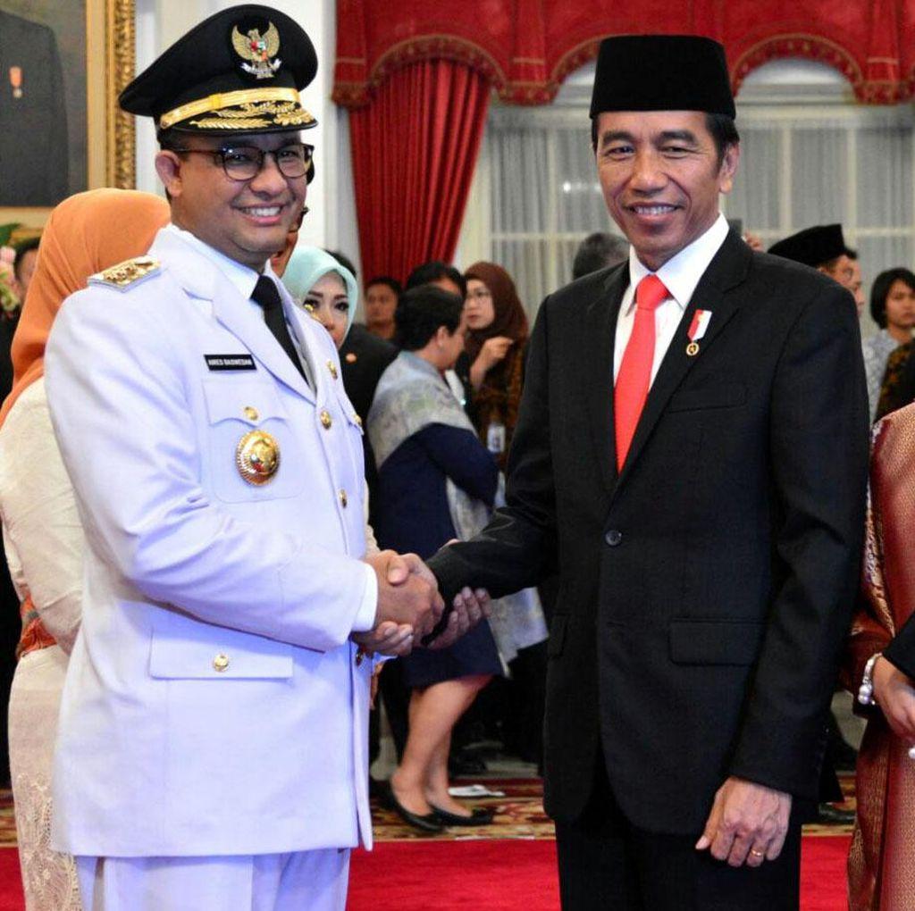 Jokowi Hingga Prabowo Beri Selamat ke Anies-Sandi