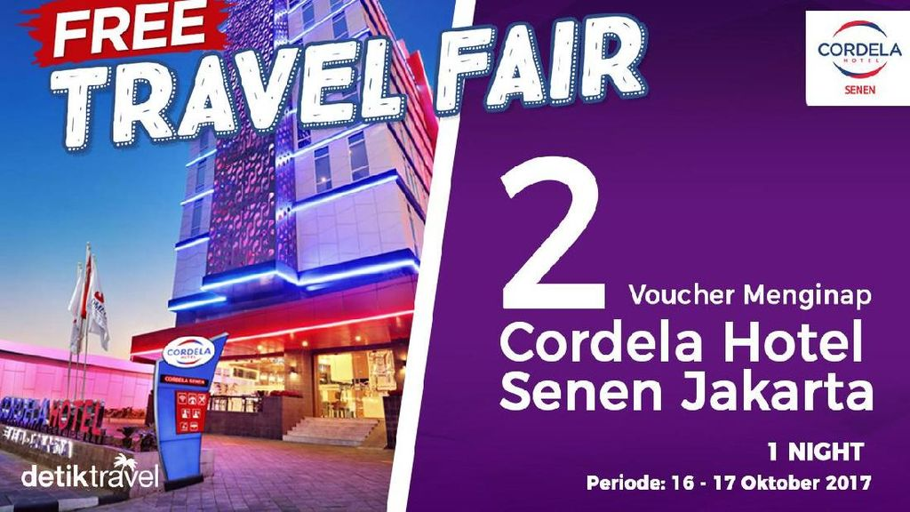 #FreeTravelFair : Tidur Gratis di Cordela Hotel Senen