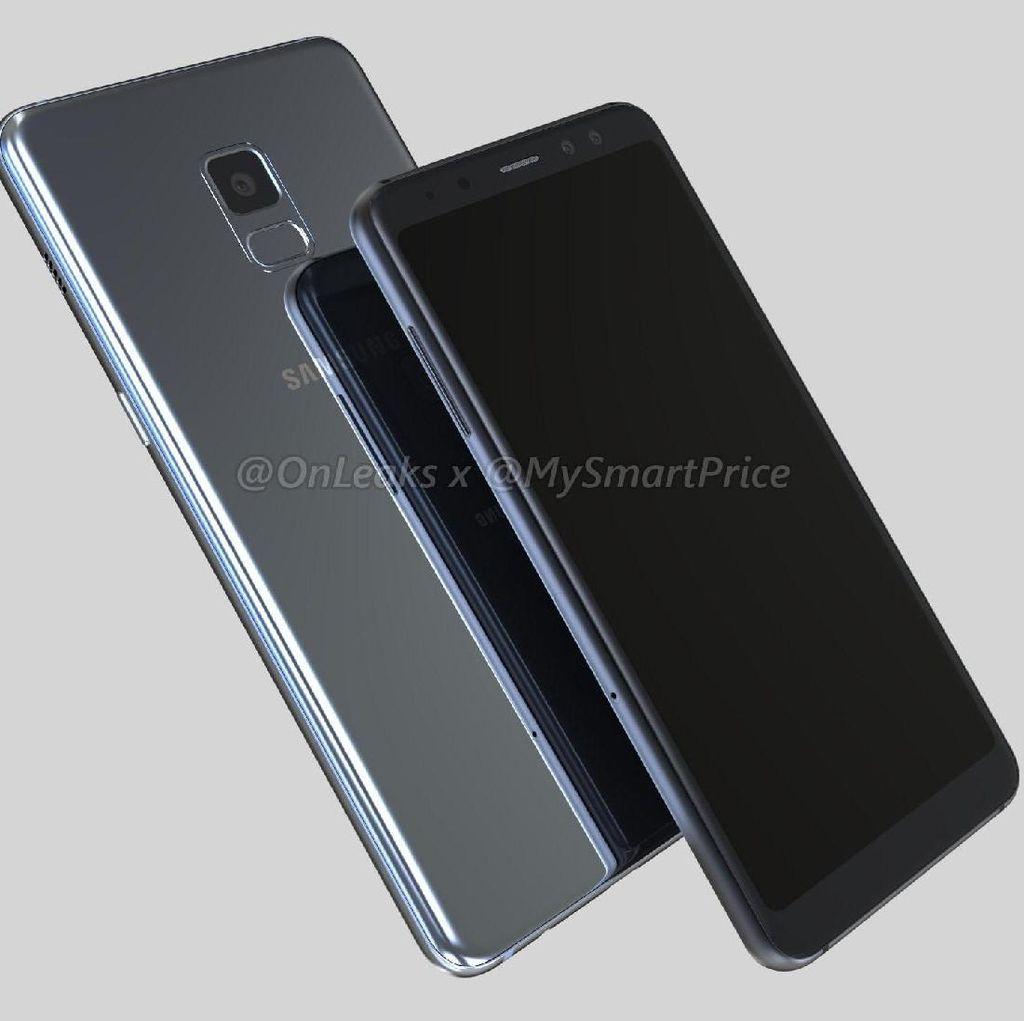 Penampakan Mengkilap Galaxy A5 & A7 Versi 2018