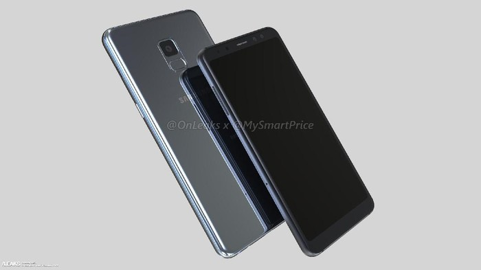 Bocoran Galaxy A5 dan A7 2018. Foto: istimewa