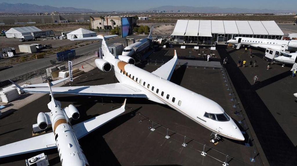 Super Mewah! Jet Pribadi Seharga Hampir Rp 1 Triliun