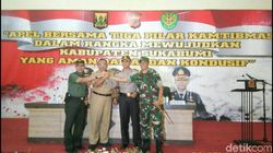 Aparat Gabungan Siap Amankan Pilkades Serentak di Sukabumi
