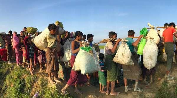 China Tolak Keras Draf Resolusi DK PBB Soal Krisis Rohingya
