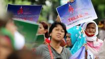 Tagih Janji, Ratusan Warga Gelar Aksi Tolak Reklamasi