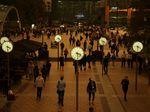 Saat Debu Sahara dan Asap Spanyol Bikin Langit di London Menguning