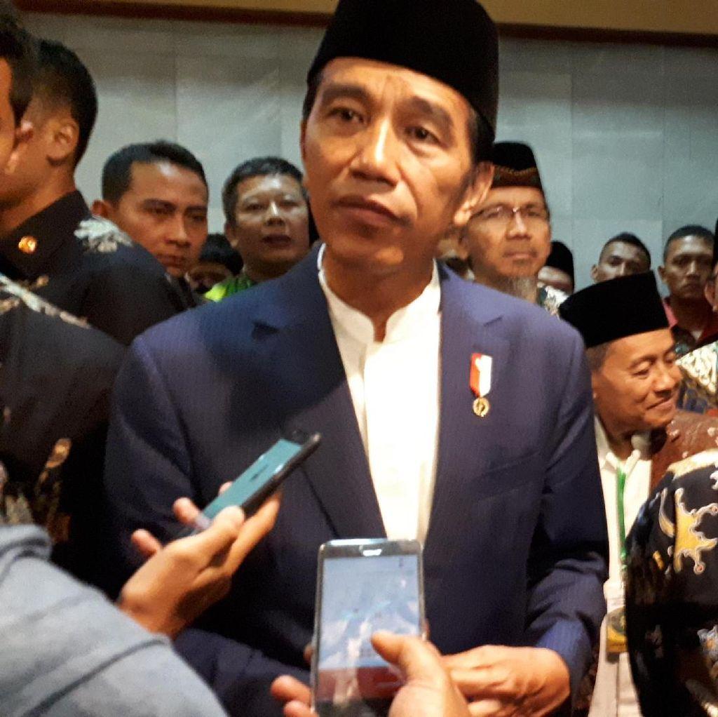 Kunjungi PP Persis, Jokowi Bicarakan Perppu Ormas hingga Kesenjangan