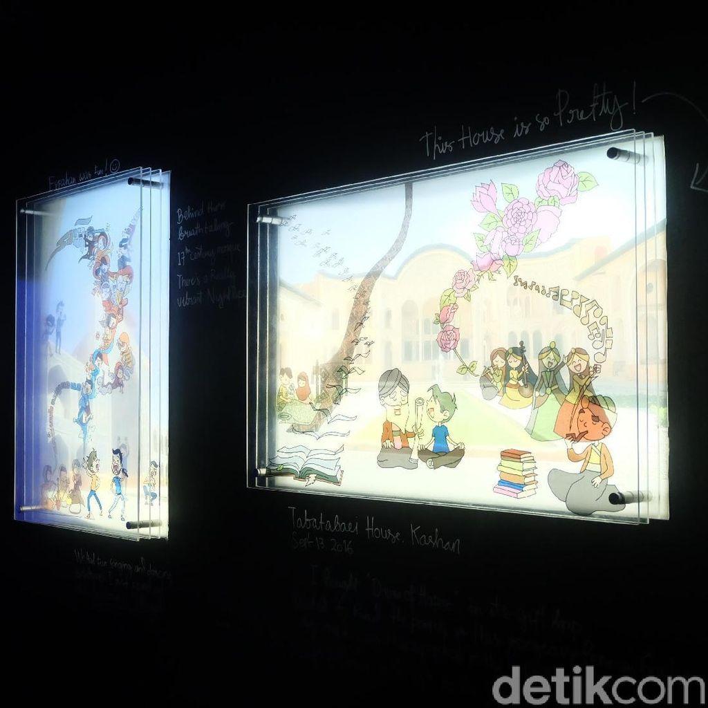 Ezra Si Tukang Jalan di The Naked Traveler Ada di Karya Indra Febriansyah