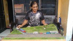 Diorama dari Barang Bekas, Terobosan Kreatif Enggar Mengais Rezeki