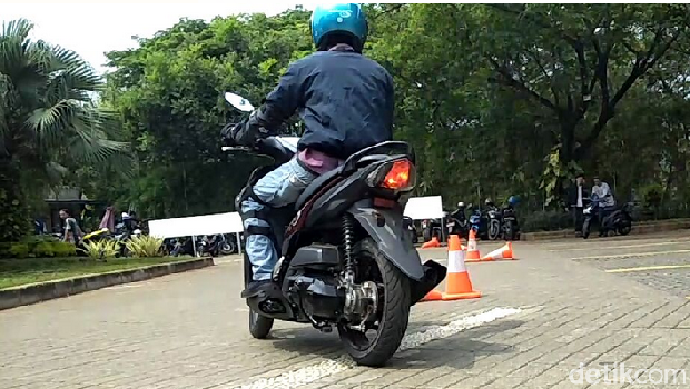 Test Ride Yamaha Mio S Tubeless & Ban Lebar.