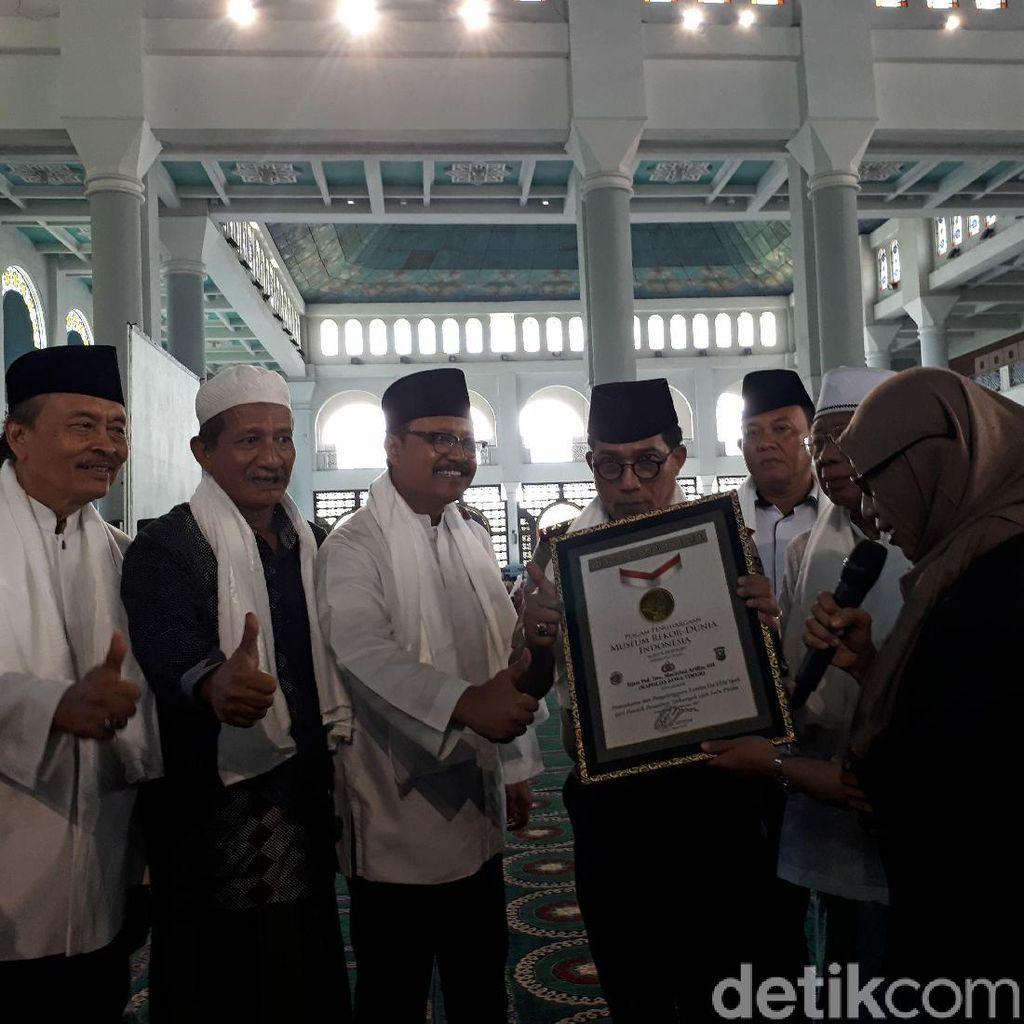 Lomba Dai/Daiyah yang Digelar Polda Jatim Pecahkan Rekor MURI