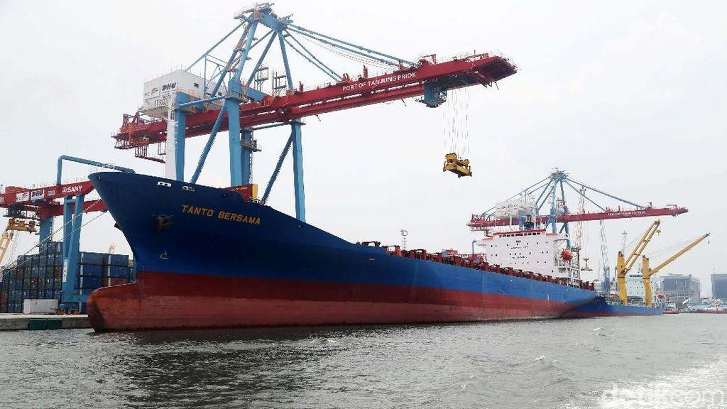 Kapal Besar dari AS dan Eropa Minati Priok Jadi Tempat Sandar