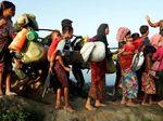 Pengungsi Rohingya Terus Berdatangan ke Bangladesh