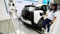 Mobil Hingga SPBU Listrik Mejeng di Pameran Teknologi PLN