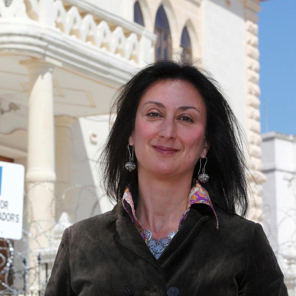 Tuduh Pemerintah Korupsi, Wartawati Malta Tewas dalam Ledakan Mobil