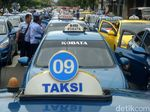 Aksi Tolak Angkutan Online di Purwokerto
