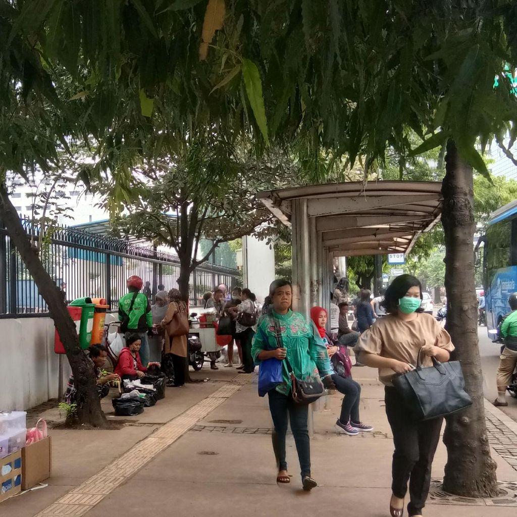 Mendambakan Trotoar Ramah Pejalan Kaki di Jakarta