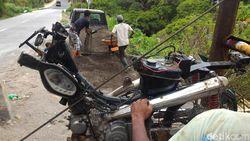 Penambang Pasir di Boyolali Modifikasi Motor Jadi Alat Angkut