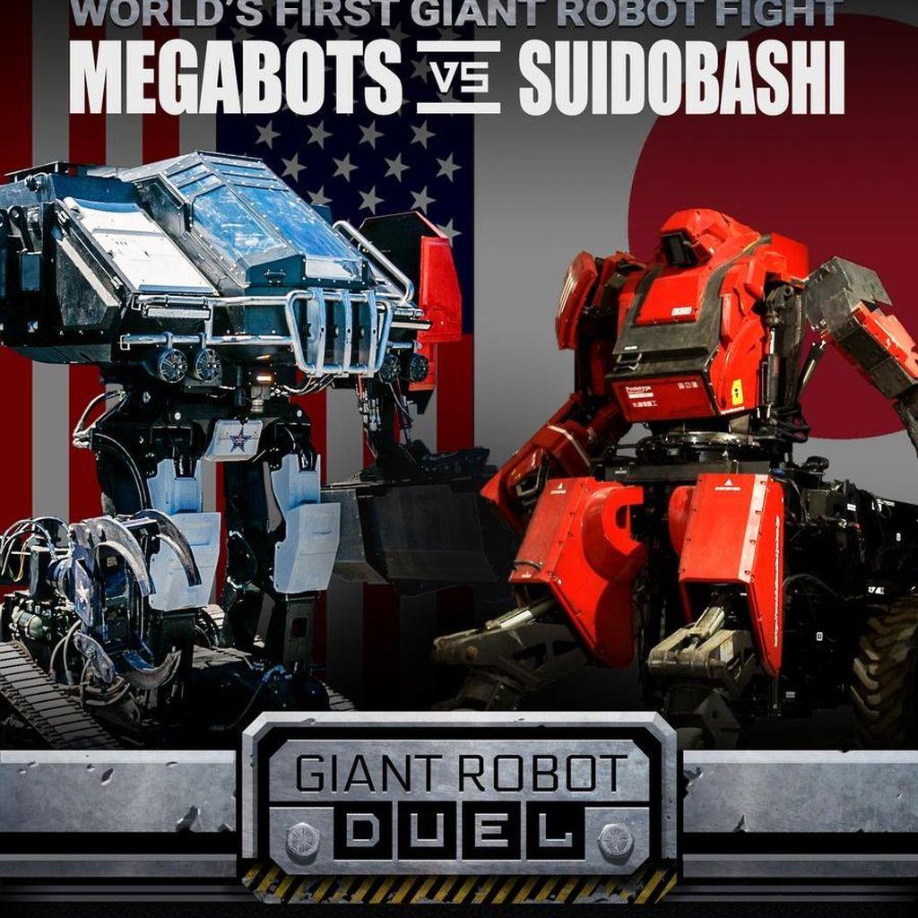 AS dan Jepang Gelar Duel Robot Pertama di Dunia