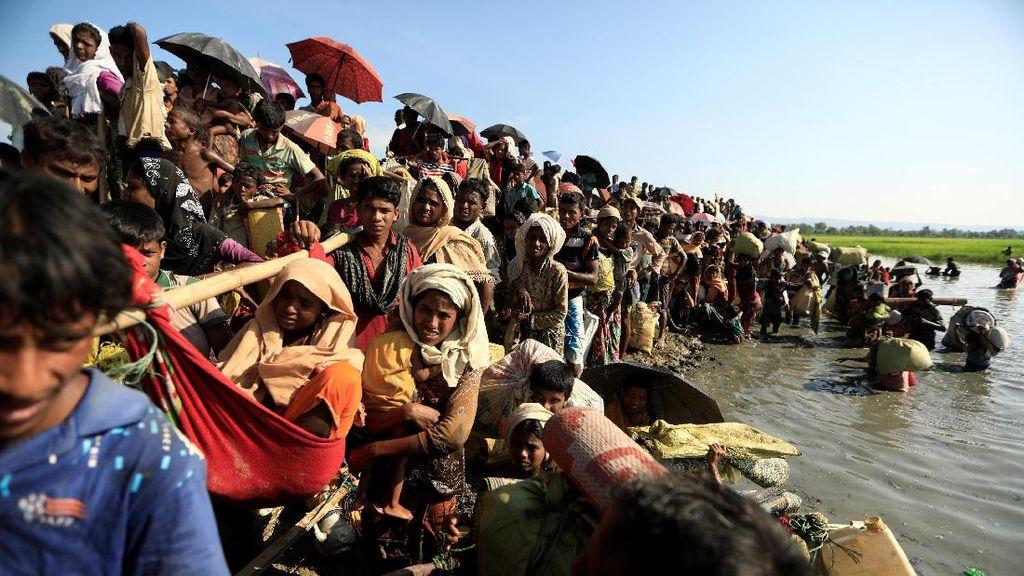 582.000 Pengungsi Rohingya Tiba di Bangladesh Sejak Agustus