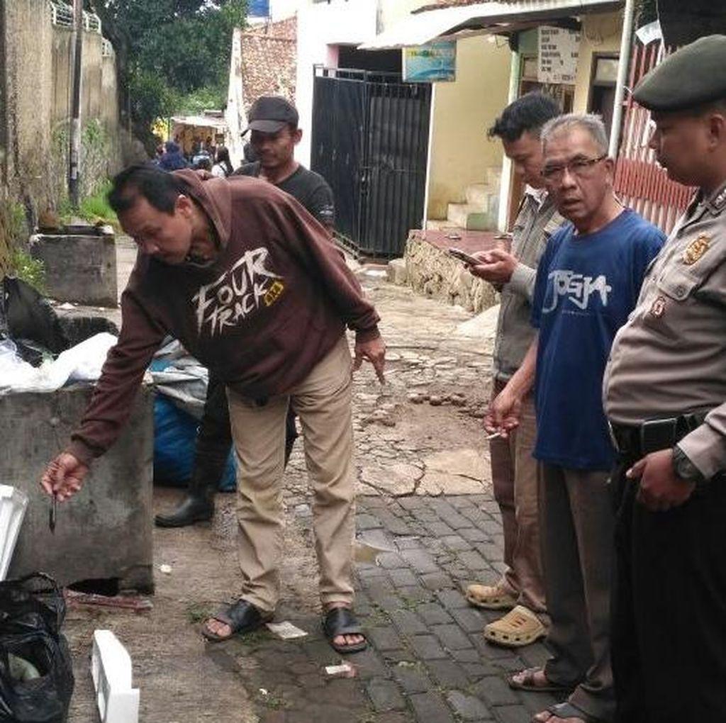 Warga Sukasari Bandung Temukan Mayat Bayi di Bak Sampah