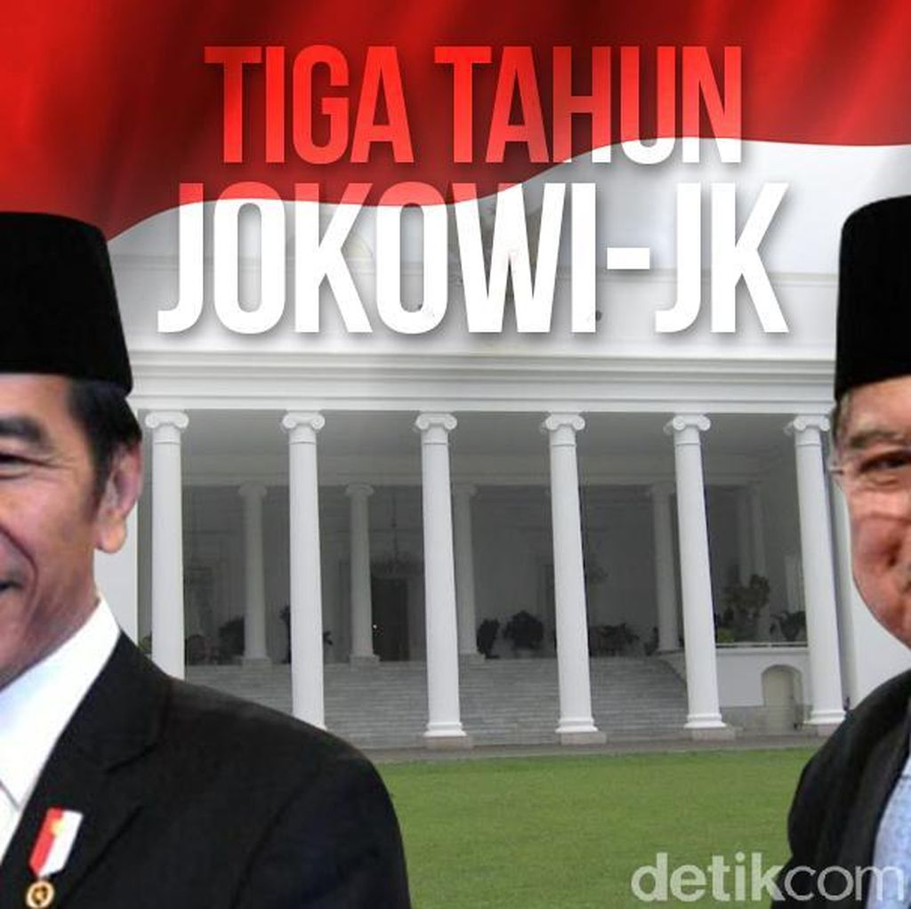 Survei Kompas: Kepuasan Terhadap Kinerja Jokowi-JK 70,8%