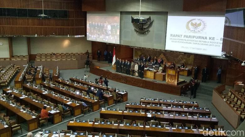 DPR Gelar Paripurna Pengesahan Perppu Ormas, 7 Fraksi Menerima