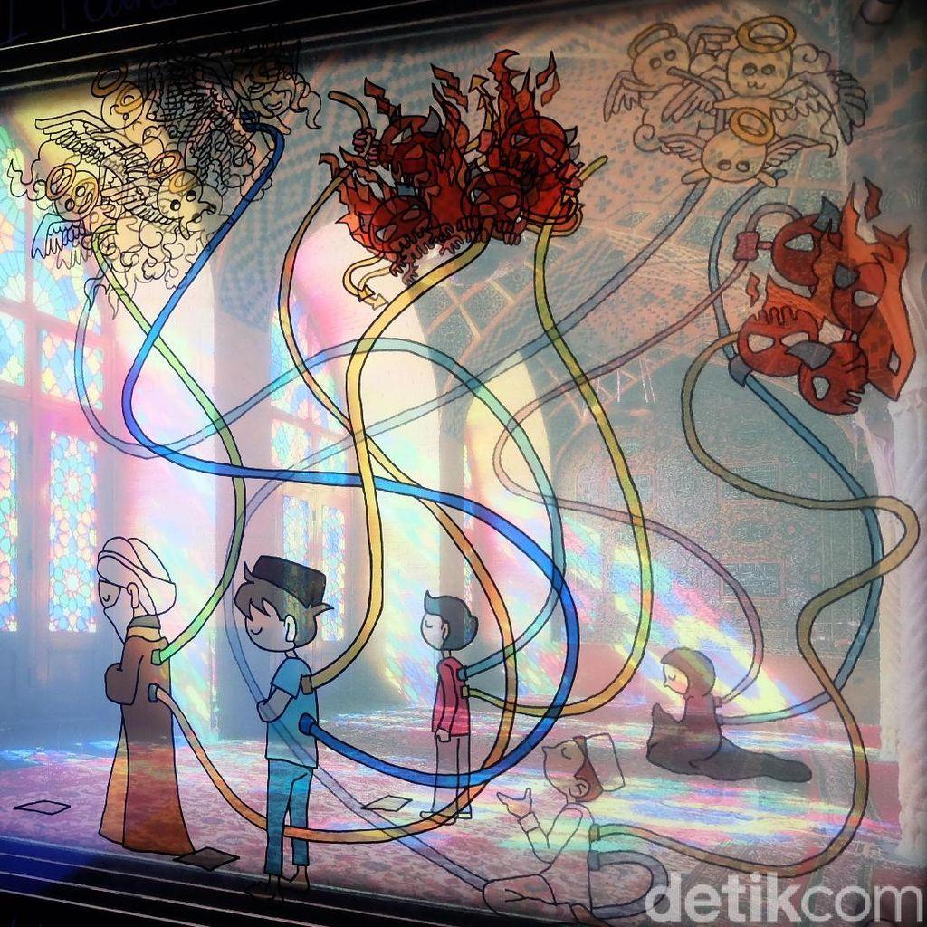 Bermula Jelajahi Iran, Indra Febriansyah dan Miranti Ciptakan Graphic Memoir