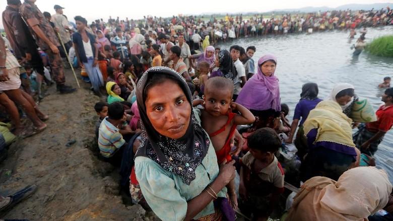 Utusan PBB: Tentara Myanmar Perkosa Wanita dan Anak-anak Rohingya