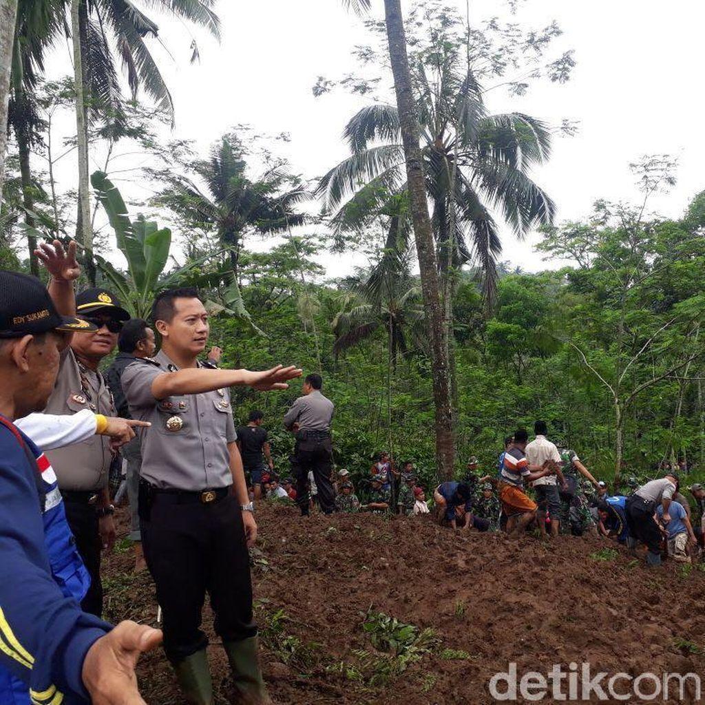 Cari Tiga Korban Longsor di Jember, Ini yang Dilakukan Polisi