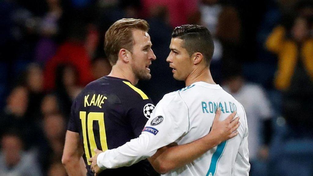 Kane ke Ronaldo: Minta Jersey-nya Dong