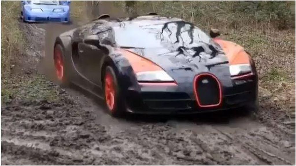 Saat Bugatti, Lamborghini, dan Ferrari Diajak Off-Road