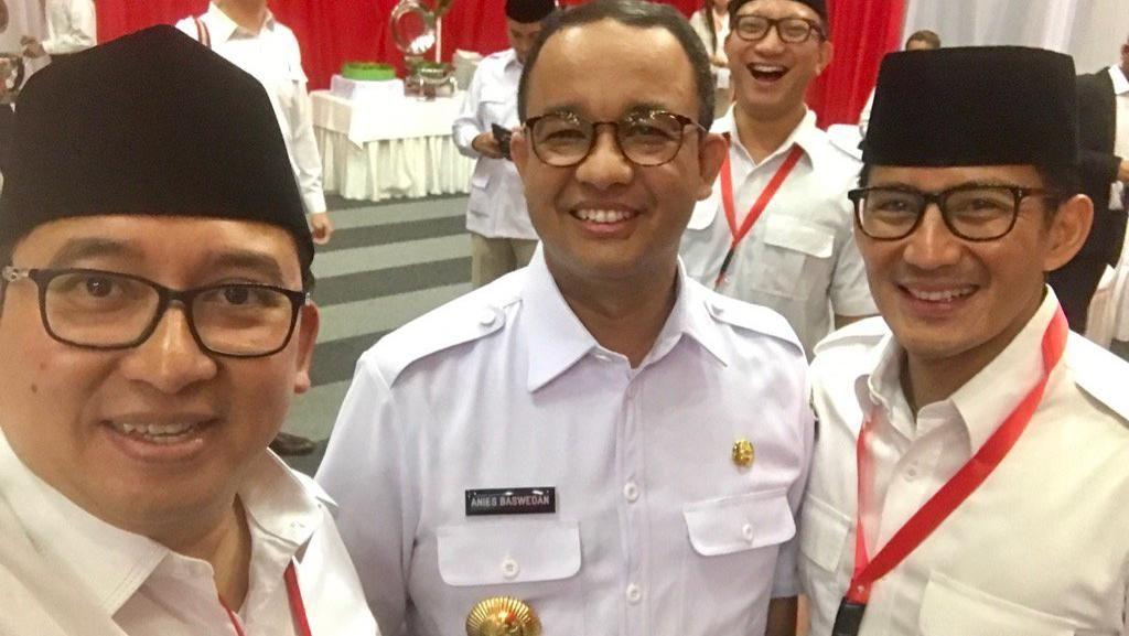 Anies Hadiri Temu Kader, Gerindra DKI: Datang sebagai Gubernur