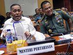 Menhan dan Panglima TNI Rapat Bareng Komisi I