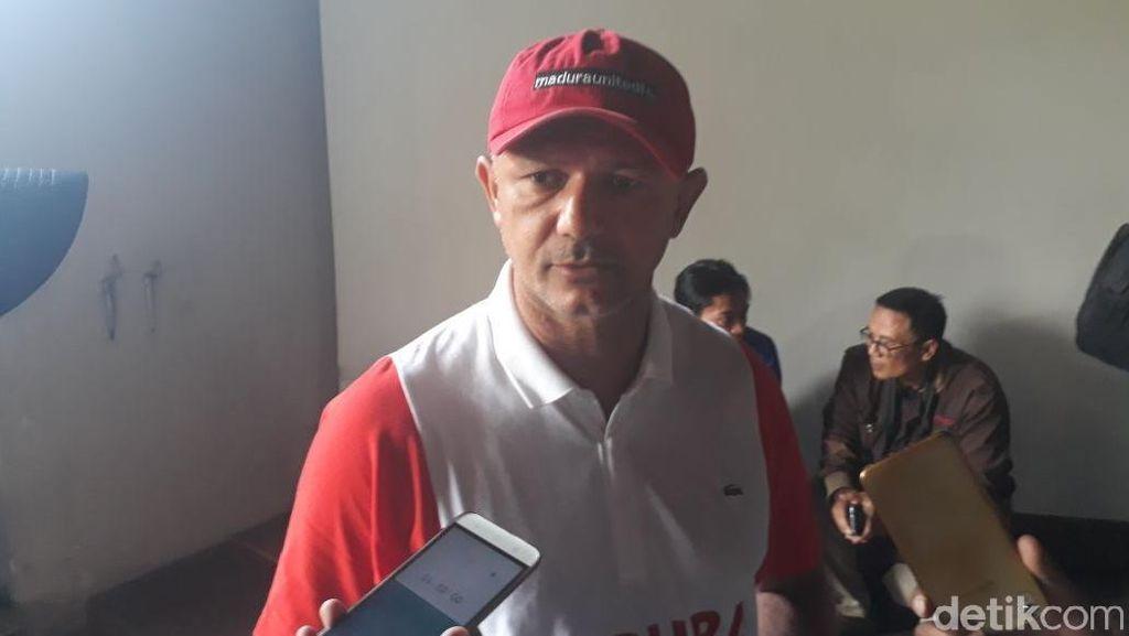 Pelatih Madura United: Persib Sulit Dikalahkan, Suporternya Istimewa