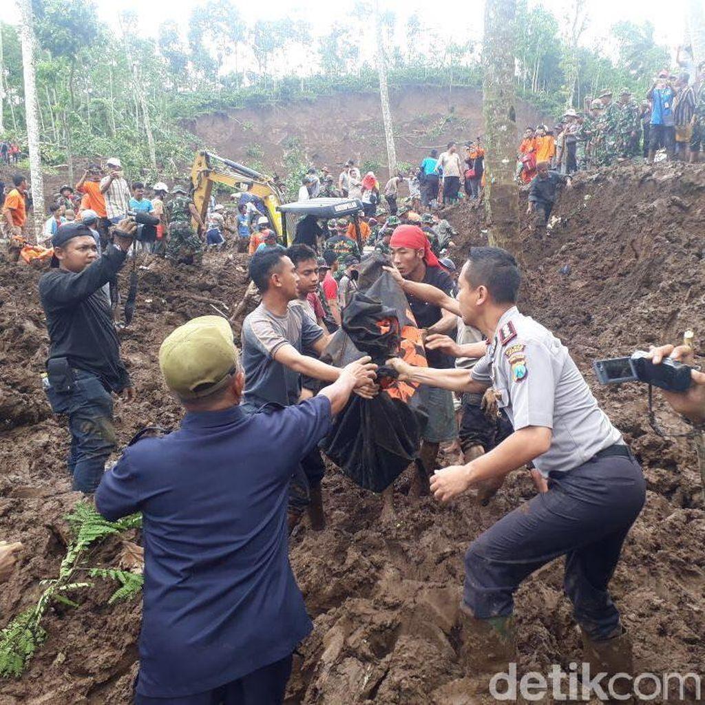Satu Korban Longsor di Jember Berhasil Ditemukan