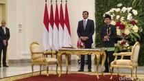 Jokowi dan Emir Qatar Syekh Tamim Teken 5 MoU