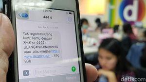 Registrasi SIM Card Nanti Bisa di Konter Pulsa