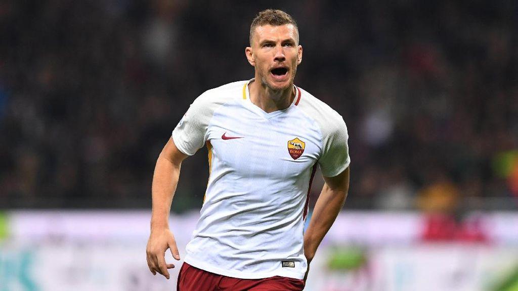 Roma Sudah Tolak Tawaran Chelsea untuk Dzeko