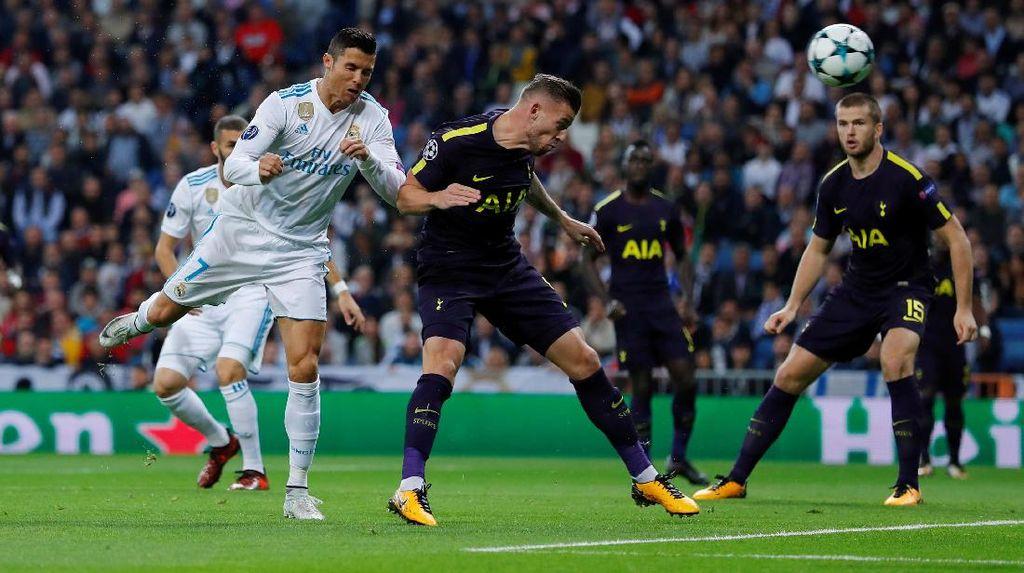 Madrid Vs Spurs Sama Kuat di Babak Pertama