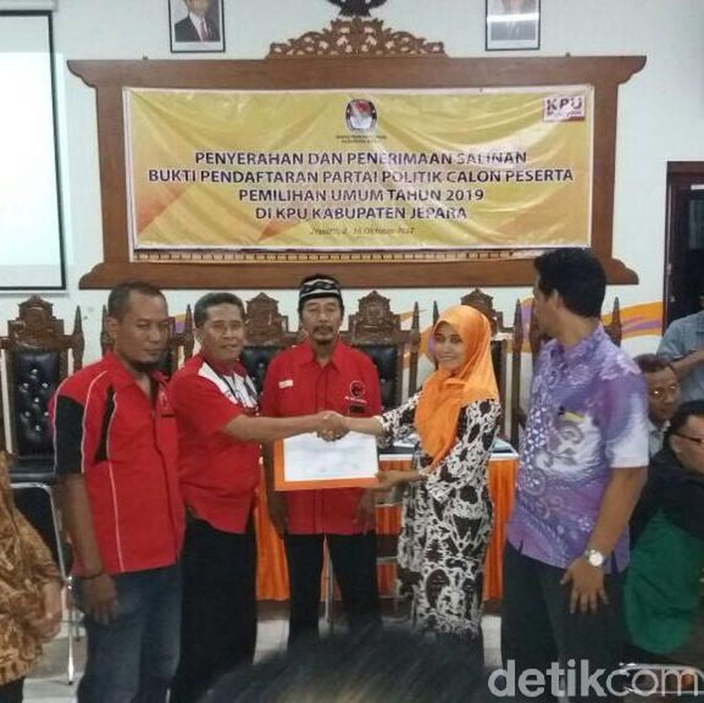 Di Jepara, 14 Parpol Resmi Terdaftar di KPU, Partai Idaman Gagal