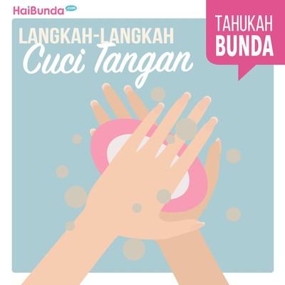 Sudah Benarkah Cara Kita dan si Kecil Mencuci Tangan?