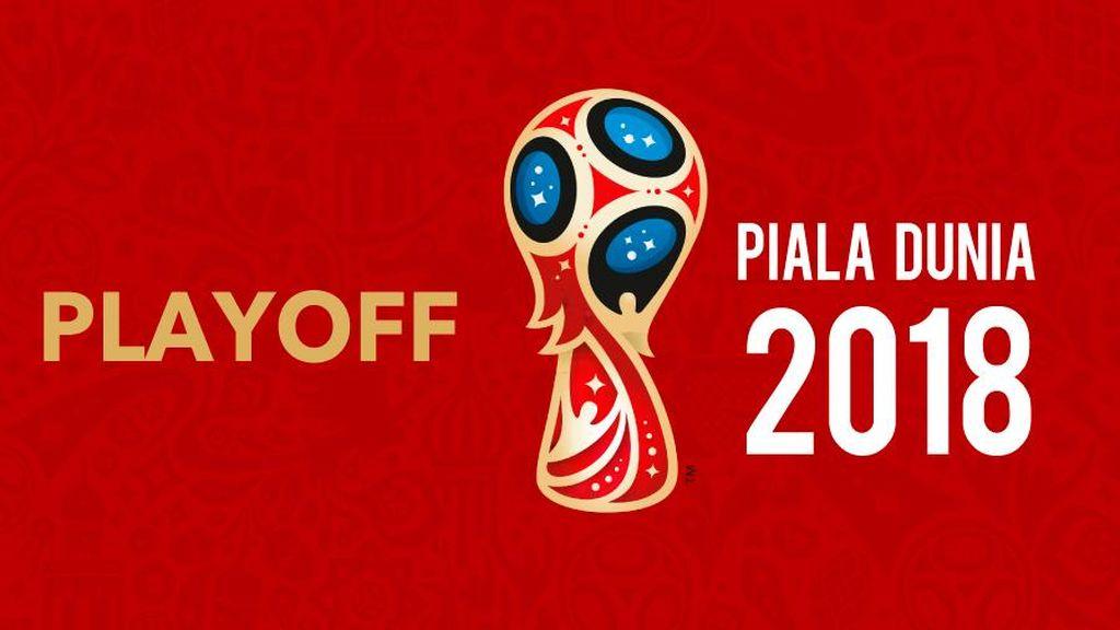 Ini Jadwal Playoff Piala Dunia 2018